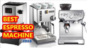 5 Best Espresso Machines
