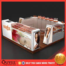 Mobile Kiosk Hair Salon Furniture Product Display Stands
