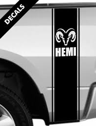 100 Ram Truck Decals Product Dodge 1500 2500 3500 Rear Bed Stripes RAM
