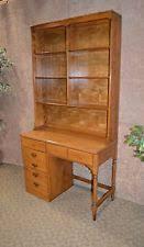 Ethan Allen Secretary Desk With Hutch by Ethan Allen Maple Desks Ebay