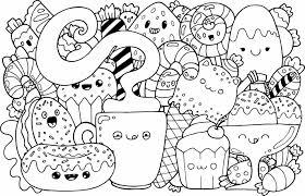 Dibujos De Zorros Kawaii Para Colorear