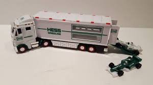 100 Hess Toy Trucks 2013 HESS MINIATURE Truck And Racers Lights Up 899 PicClick