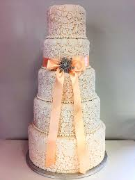 Five Tier Lace Wedding Cake BrRent EUR200brRefundable Deposit