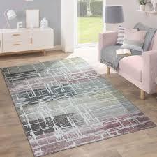 design teppich wohnzimmer gemälde look