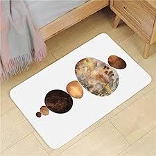moderne flanell badezimmer matte weich verdicken bad