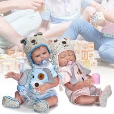 Handmade Lifelike Newborn Silicone Vinyl Reborn Baby Doll Full Body