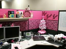 Outrageous Cubicle Birthday Decorations by White Christmas Tree With Pink Lights Christmas Lights Decoration
