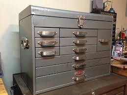 restored craftsman vintage unusual tool boxes cabinets