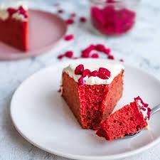 low carb keto velvet cake aus unseren backmischungen