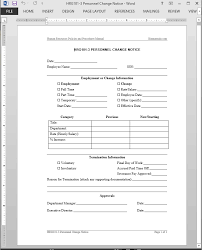 Payroll Change Notice Form Template Gallery Design Ideas Breathtaking Status
