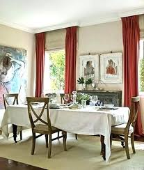 Dining Room Curtain Ideas Curtains For Marvelous Formal Designs With