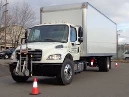 100 Penski Truck Penske Lease Freightliner M2 Route Delivery Truck Equipped