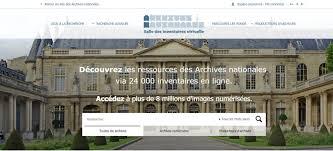 les archives nationales françaises optent pour l ouverture et la