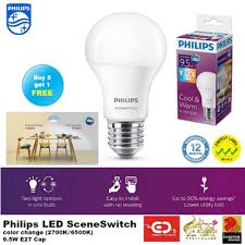 qoo10 buy 5 get 1 free philips sceneswitch color change led