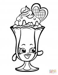 Medium Size Of Coloring Pagesendearing Sundae Page Suzie Shopkin Pages Endearing