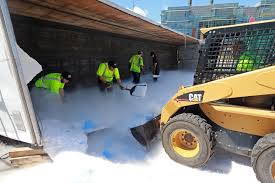 100 Truck Tips Tips Spills 40000 Pounds Of Dry Ice On Pike Ramp Boston Herald