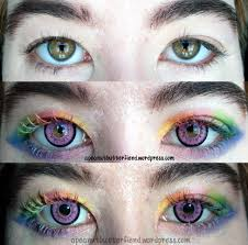 Blue Prescription Halloween Contacts by Halloween Contacts Non Prescription Send Free Online Invitations