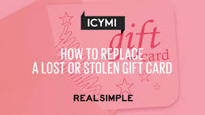 How To Replace A Lost Or Stolen Gift Card - Real Simple Top Egift Cards To Use Easiest Redeem Gcg Barnes And Noble Gift Card Balance Check The With Image How Apply For Credit Over 50 Printable Holders Holidays Fashion Island Shopping Newport Beach 12 Great Holiday Gifts Your Boss That Are Under 25 Gift Cards Linzie Hunter Illustrator Hand 5 Great Endofyear Graduates Teachers Birthday Haul 2015 Liloveandb Fathers Day Email Html Email Gallery