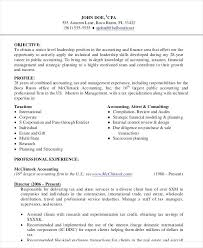 Accounting Resume Samples Corporate Staff Accountant Entry Level Free