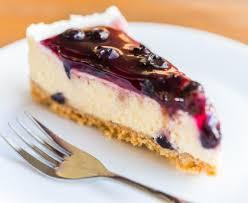 cheesecake aux myrtilles recette de cheesecake aux myrtilles