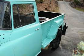 1957 International Harvester 4X-A120 Step Side Pick Up Truck 1 Ton 4 ...