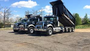 The Dump Truck Fleet Gallery From Garman Trucking LLC