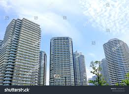 100 Apartment In Yokohama Tower Standing Side By Stock Photo Edit Now