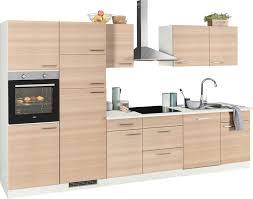 wiho küchen küchenzeile zell mit e geräten breite 340 cm kaufen otto