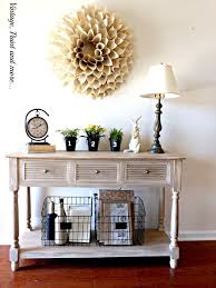 Spring Entryway Foyer Gardening Home Decor Repurposing Upcycling