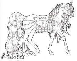 Gallery Of Amazing Free Horse Coloring Pages 56 On Online With