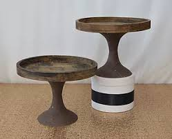 8 Wood Cake Stand 30cm 1500 Each