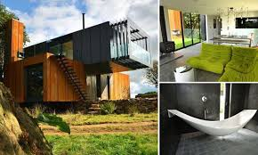 100 Shipping Container Cabins Plans Grand Designs SHIPPING CONTAINER House Built By Farmer To