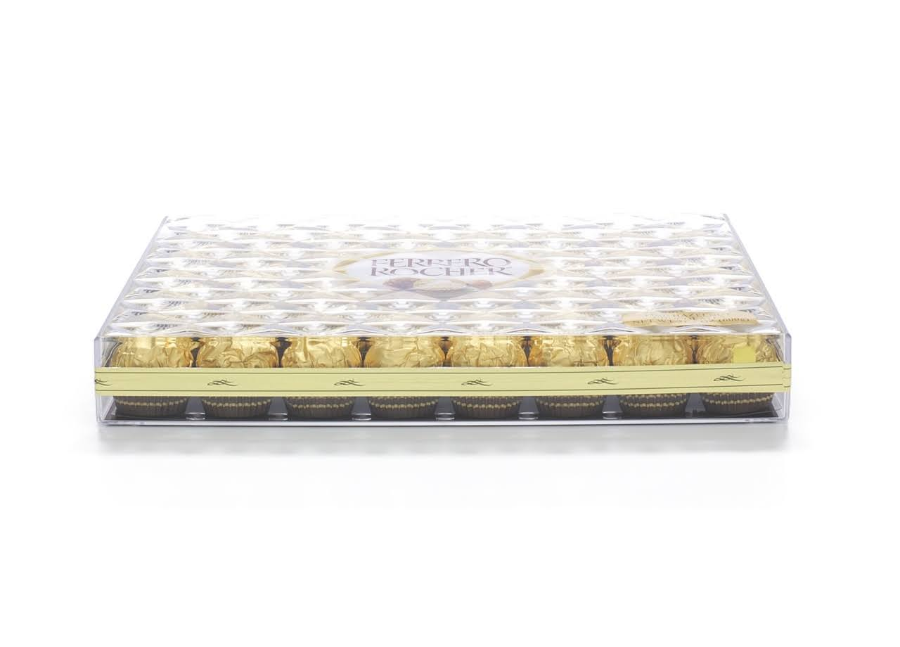 Ferrero Rocher Fine Hazelnut Chocolate - 48 pieces, 21.2 oz box