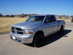 2011 Dodge Ram 1500 SLT Quad Cab Has Custom Black 20