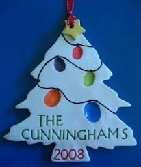 Thumbprint Tree With Salt Dough A Christmas Cookie Cutter Was Last Modified