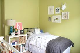 Somehow She Had To Tackle The Task Of Creating A Space For Her Baby Girl And Toddler Boy In Small Room With Budget