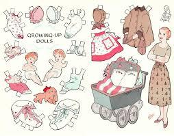 331 Best Baby Paper Dolls Images On Pinterest