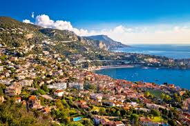 100 Villefranche Sur Mere Sur Mer And French Riviera Coastline Aerial View