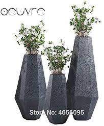 fotcus nordische kreative blumentopf aus stein groß modern
