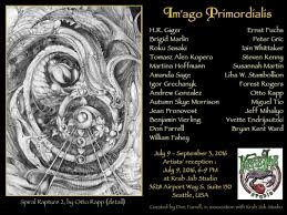 100 Andrew Morrison Artist IMAGO PRIMORDIALIS Exhibition At Krab Jab Studio Seattle USA Art