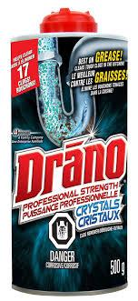drano kitchen crystals clog remover 500 g walmart canada