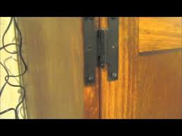 Installing Non Mortise Cabinet Hinges by Handy Hazzan Shows How To Install Cabinet Door Hinges Youtube