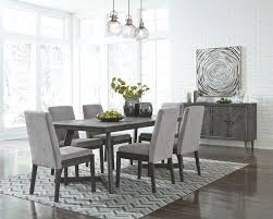 Astounding Grey Dining Room Furniture And Set Chairs Table ... Tufted Ding Room Chairs With Arms Or Without Scdinavian Design Ideas Inspiration 21 Ways To Decorate A Small Living And Create Space Reupholstering Kitchen Hgtv Pictures 30 Rugs That Showcase Their Power Under The Table Gallery Of Decorating Ideas For Ding Room 10 Fresh Set Diy Makeover Just Chalk Paint Fabric Bar Stool Chair Options Mahogany Hariom Wood Sheesham Wooden Wning Dkkirovaorg How To Mix And Match Like A Boss 28 Pairs