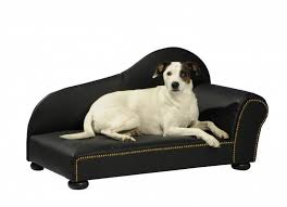 canap pour chien canapé pour chien lederoptikgr noir panier et corbeille
