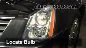 headlight change 2006 2011 cadillac dts 2009 cadillac dts