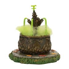 Dept 56 Halloween Village by Department 56 Halloween Village Toad Fountain Accessory New 2017