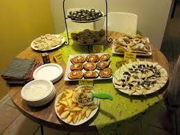 Housewarming Fall Party Food