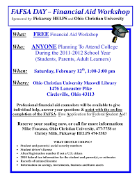 Fafsa Help Desk Number by Fafsa Day Flyer 2011