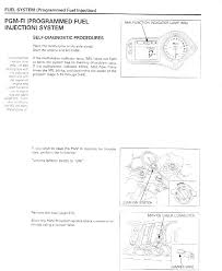 Malfunction Indicator Lamp Honda by Weird Idle And Fi Light On 2001 Cbr 600f4i Sportbikes Net