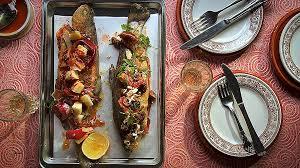 cuisiner la truite comment cuisiner la truite au four lovely truites la plancha la